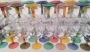 WINE  GLASSES - 1133 -